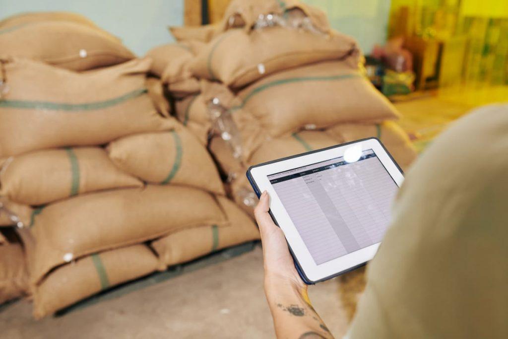 tecnología en cadena de suministro